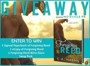 Forgiving Reed Giveaway Tour Graphic
