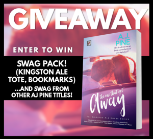 The One That Got Away Giveaway Graphic